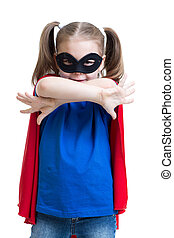 gry, dziewczyna, superhero, koźlę