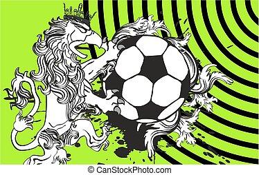 gryphon, background6, futbol, cresta