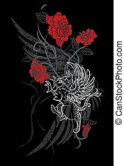 gryphon, en, rozen