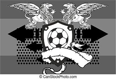 gryphon, futbol, background4, cresta
