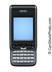 Gsm Phone - Very sharp. Include clipping path.