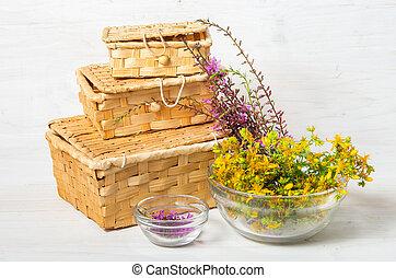 guérison, herbes