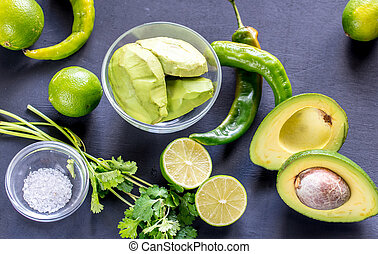 guacamole, ingredienten