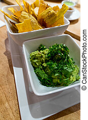 Guacamole Plantain Chips