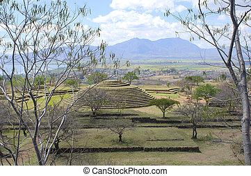 Guachimontones at Teuchitlan and Environs - Above...