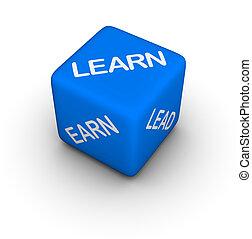 guadagnare, imparare, piombo