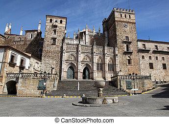 "Guadalupe - Spain - The historic ""Real Monasterio De Santa..."