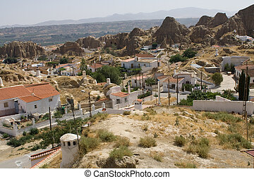 Guadix, Southern Spain - Guadix, villages in the province of...