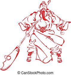 Guan Yu.