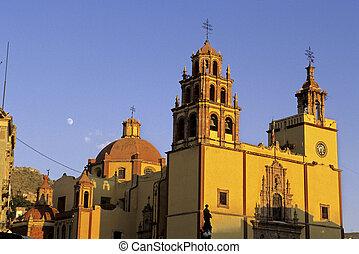 guanajuato, basilica-, mexikó