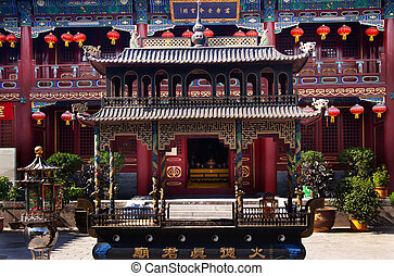 Guanghua Buddha Temple Incense Burner Beijing China Famous...