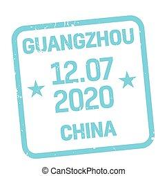 Guangzhou postage stamp