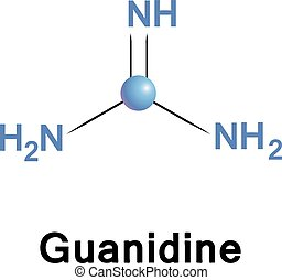 Guanidine biochemical compound