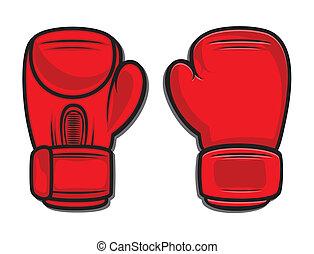 guantes, boxeo