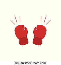 guantoni da box, icona