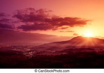 Guanyin Mountain Sunrise, the new T