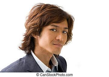 guapo, asiático, tipo