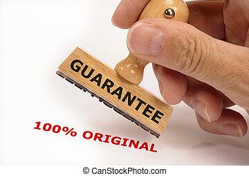 guarantee for 100% original