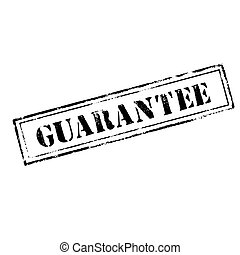 'GUARANTEE' rubber stamp