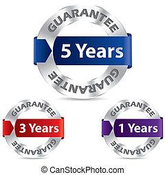 Guarantee seal designs