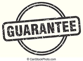 guarantee vintage stamp. guarantee sign