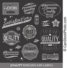 guaranteed, etiketten, kwaliteit