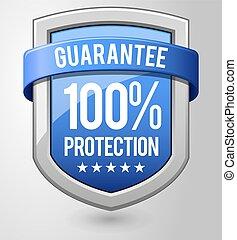guaranteed protection shield.