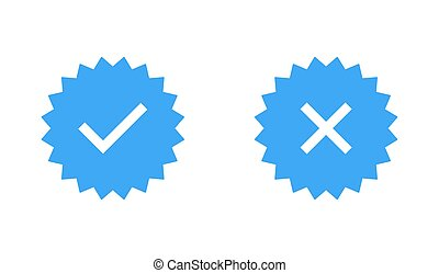 Guaranteed stamp set or verified badge. Verified icon stamp