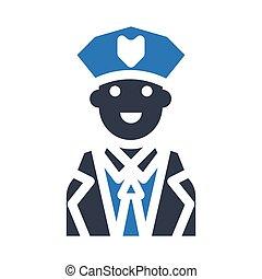 guard glyph color icon