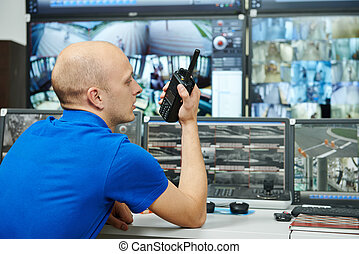 guard of security video surveillance