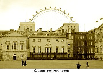 Guard Stable & London Eye
