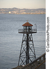 Guard Tower at Alcatraz