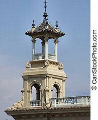 Guard tower in Barcelona