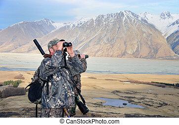 guarda, caçadores