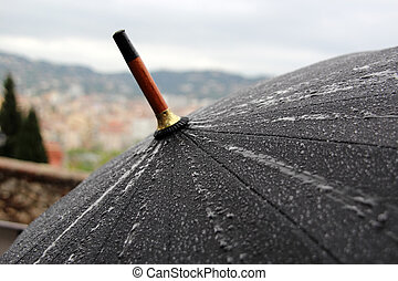 guarda-chuva, chuva