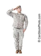 guarda-florestal, exército