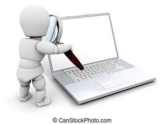 guardando computer