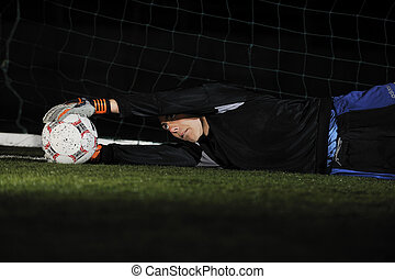 guardián, objetivo del fútbol