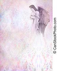 guardián, tablero del mensaje, ángel