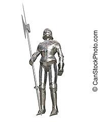 guardia, corazzato