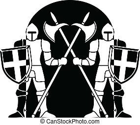 guardians. vector illustration
