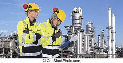 guardias, industrial, dos