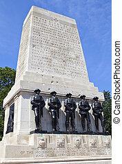 Guards Memorial at Horse Guards Parade in London
