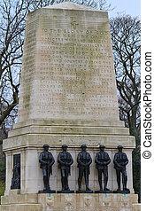 Guards War Memorial, Horse Guards Parade, London. UK