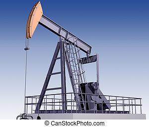 guarneça, óleo