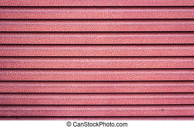 guarnecido suportes, metal, vermelho, textura