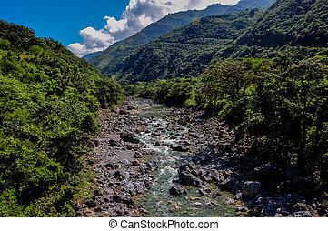 guatemala, 川, 岩