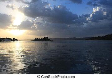 guatemala, 湖, peten