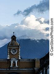 guatemala, architektur, antigua, typisch