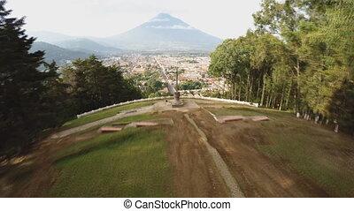 Guatemala city panorama - Guatemala, Republic of Guatemala -...